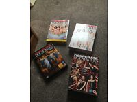Desperate Housewives series 1-4 dvd box sets