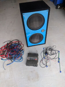 """12"""" Car Stereo Subwoofers + extras"""