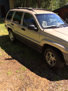 2001 Jeep Grand Cherokee SUV, Crossover