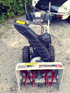 24 inch snow blower like new