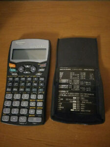 Selling a Sharp Advance Scientific Calculator with Cover