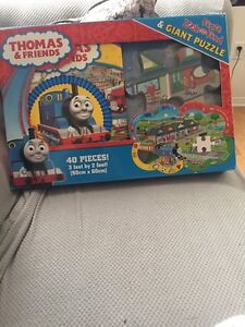 Brand new Thomas and friends puzzle and book