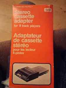 Realistic Stereo Cassette adapter for 8 track player