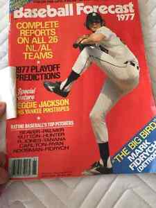 1977 Sports Magazine Baseball Highlights & Blue Jays Forcasts Kitchener / Waterloo Kitchener Area image 3