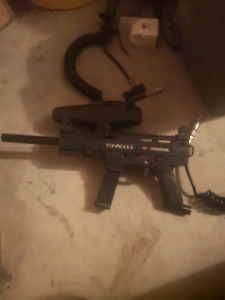 Paintball markers