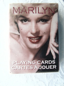 VINTAGE MARILYN MONROE PLAYING CARDS  {NEW}