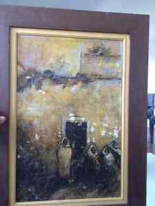 Painting listed artist