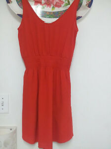 Aritzia Red Babaton Dress XS