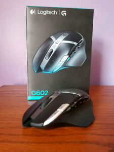 Logitech g602 wireless gaming mouse!