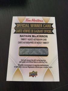 Tim Hortons Nathan Mackinnon timbits