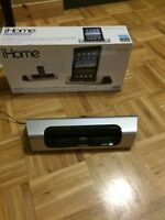 IHome stereo player iPad 2 iPhone 4s with box obo