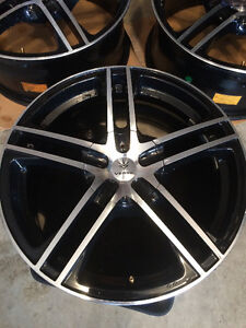 **LIKE NEW** Verde Rims and Michelin Winter Tires