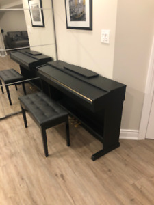 Yamaha Electric Piano YDP-161 with a bench
