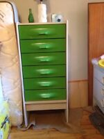 Matching Set Of Two Rare Vintage Dressers : MUST GO
