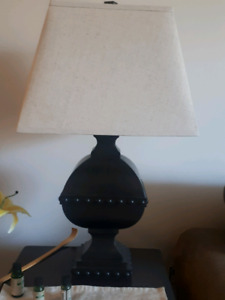 2 big Table Lamps