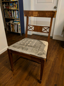 3 Vintage 1930s Wood Chairs - Made in Vancouver
