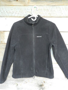 Womens Marmot black fleece