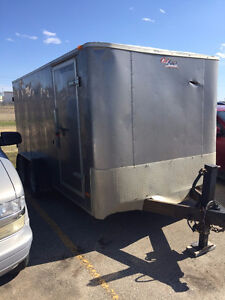2010 Pace Enclosed Trailer 14x6 w/ Dual Axles