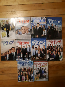 All the office seasons on DVD