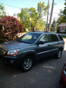 2007 Kia Sportage LX 4X4 $3900 Certified Call/text 519 362 6181
