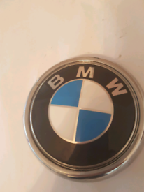 BMW X6 E72 BMW Emblem Rear Badge Rear 7196559
