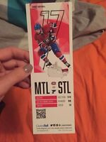 Hockey Game Tickets for sale for October 21st