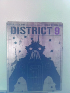District 9 Bluray Steelbook