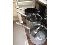 Anolon professional saucepans