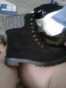 Black boots from torrid. Size 10