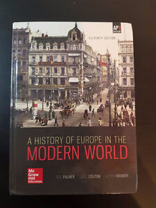 History of Europe in the Modern World UWO textbook History1401