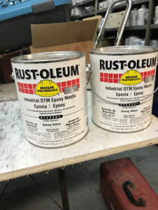 Rust-o-leum Epoxy Paint 4 US gallon cans