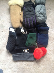 HATS,MITTS,GLOVES,NECK WARMERS ETC.