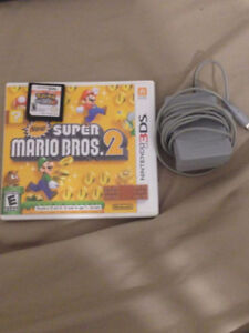 Super Mario Bros. 2 3DS and Pokemon White Version 2  / Charger