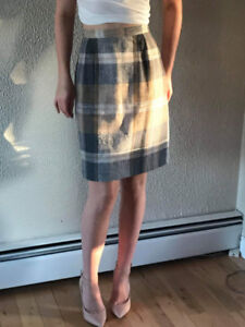 Plaid Skirt Perfect for Fall Weather