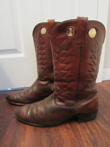 Men's leather Cowboy Boots Size 13 , #20