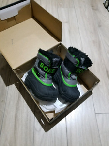 Winter boots. Size 6 (baby)