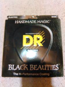 Cordes de Bass 5 Cordes DR Black Beauties