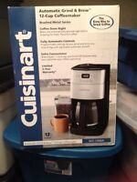 Cuisinart automatic grind and brew coffeemaker