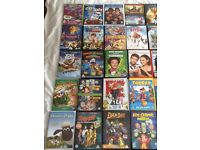 Original DVDs in fantastic condition in Original cases for children and adults in