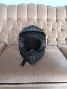 Riding helmet goggles and gloves for sale