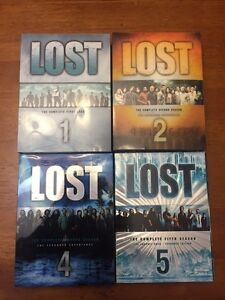 Seasons of Lost, Grey's Anatomy, and ER