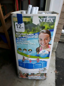 Intex 10x10 Pool (Everything Required Included)