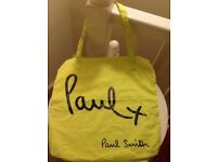 💛👜 Paul Smith women's canvas tote bag new