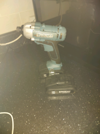 Erbauer ER16041PD 18v Impact Driver plus extra battery