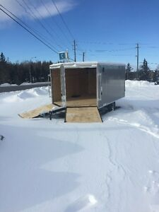 8.5' WIDE XL DENALI Snowmobile/ATV Trailer