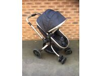 Mothercare Orb Pushchair in liquorice