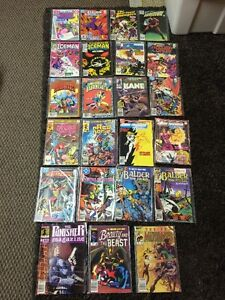 Marvel and DC comics mid 80s- lot of 23