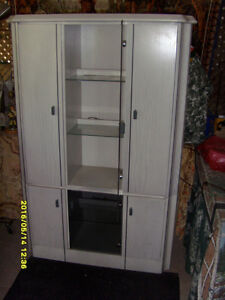 TWO PIECE CABINET - $190