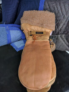 XL Watson Leather mitts - Removable Lining