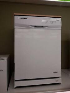 *** USED ***  PORTABLE WHITE DISHWASHER   S/N:F60405515   #STORE616